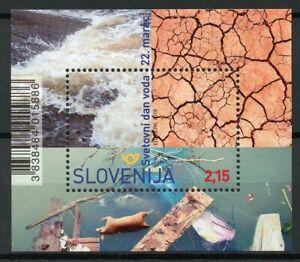 Slovénie 2019 Neuf Sans Charnière World Water Day 1 V M/s Science Timbres-afficher Le Titre D'origine