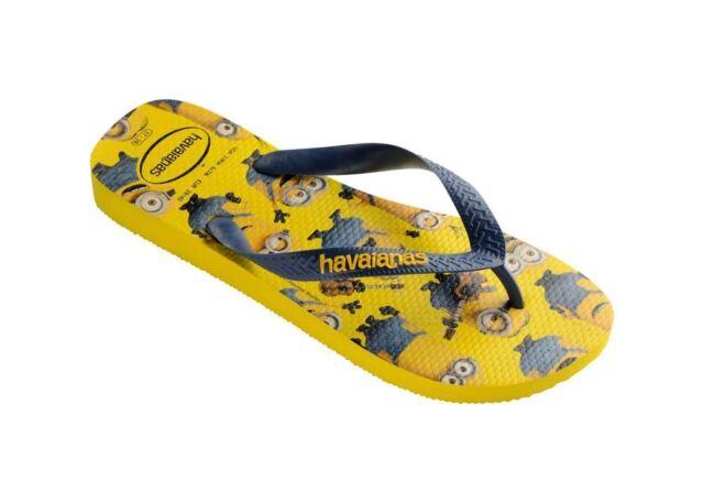 dbb5ad14367c5e Havaianas Minions Unisex Rubber Yellow Navy Flip Flops Shoes All ...