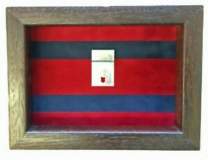 Small-Royal-Engineers-Miniatures-Medal-Display-Case-For-3-4-Or-5-Miniatures