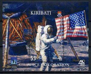 Kiribati 2009 Neuf Sans Charnière Exploration Spatiale 40th Anniv 1 V M/s Moon Landing Timbres-afficher Le Titre D'origine