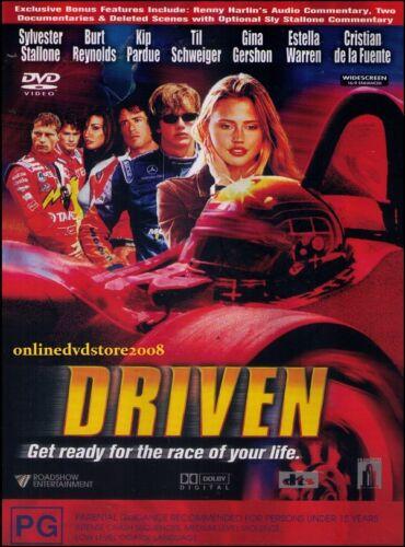 1 of 1 - DRIVEN (Sylvester STALLONE Burt REYNOLDS) Racing ACTION Film DVD NEW Region 4