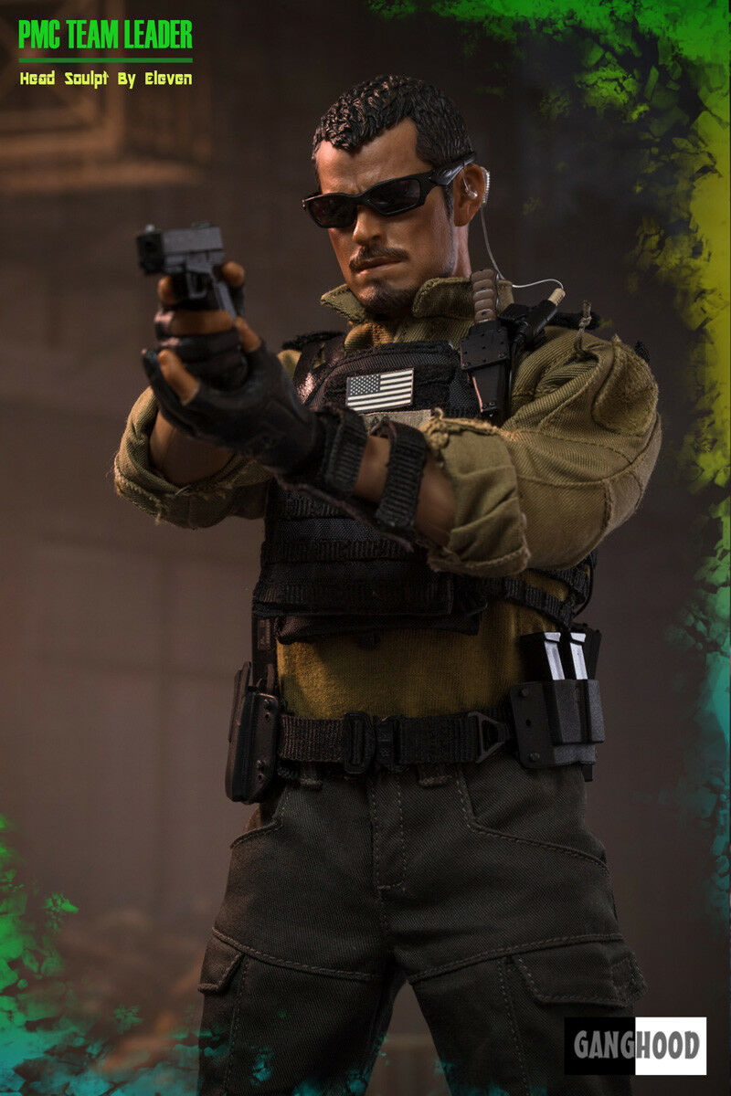 Ganghood 1/6 1/6 1/6 Scale PMC Team Leader Action Figure ebe881