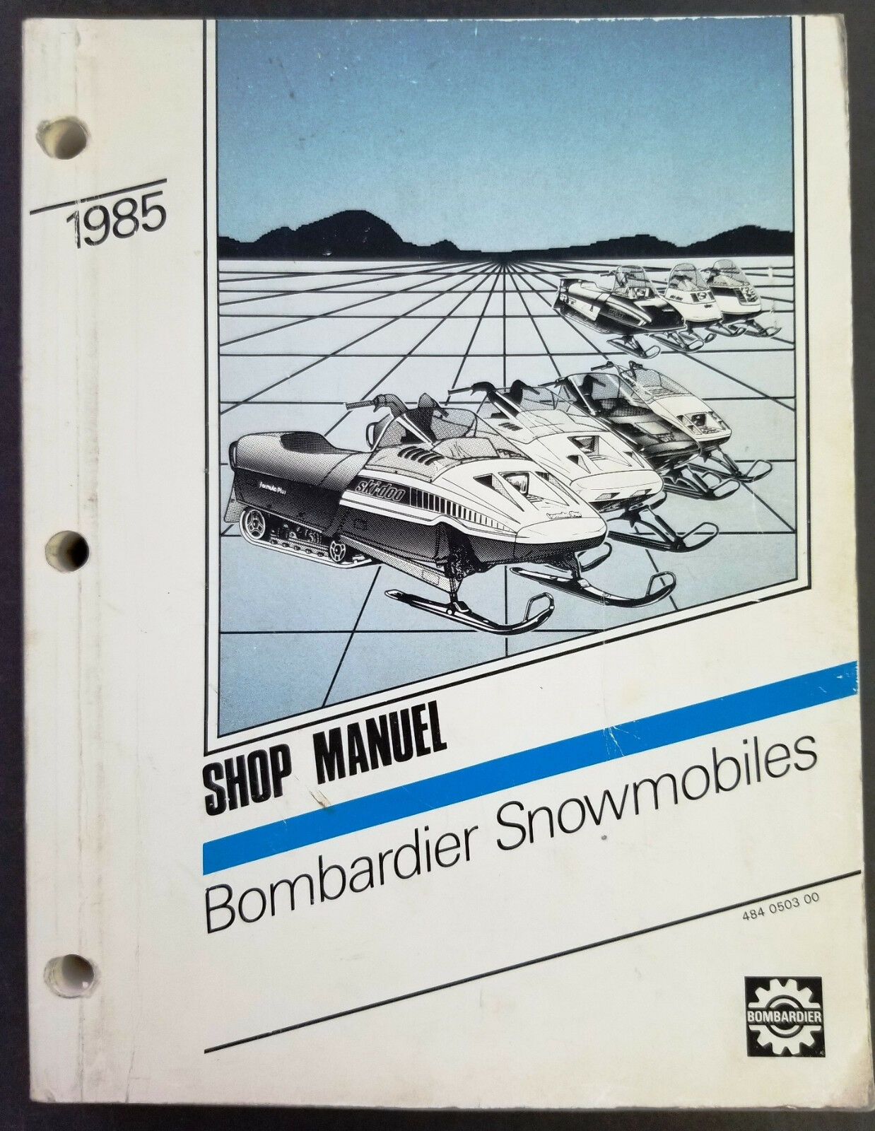 1985 Bombardier All Models Snowmobiles Factory Dealer Service Manual