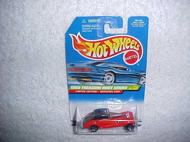 Hot Wheels Mercedes 540K Choice Lot2 Cars per Lot