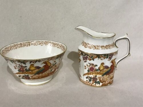 BEAUTIFUL Royal Crown Derby 'Olde Avesbury' Milk Jug & Sugar Bowl