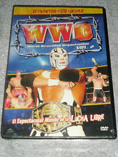 DVD WWO World Wrestling Organization Volume 2 ,BRAND NEW DVD FACTORY SEALED