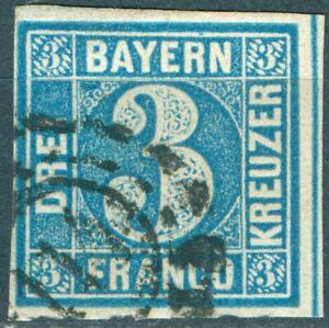 Bayern-2-I-mit-offenem-Muehlradstempel-114-allseitig-vollrandig-geschnitten