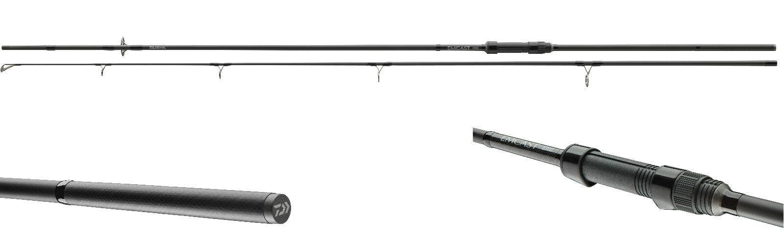 Daiwa Emcast Carp 3,60m 3,0 lbs Karpfenrute 2-teilig Karpfenangel 50er Startring