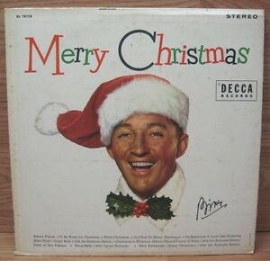 Bing-Crosby-Merry-Christmas-DL-78128-Decca-Records-Vinyl-Album-READ