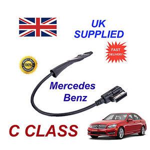 MERCEDES-CLASE-C-2009-Integrado-Bluetooth-Musica-modulo-para-iphone-htc-nokia