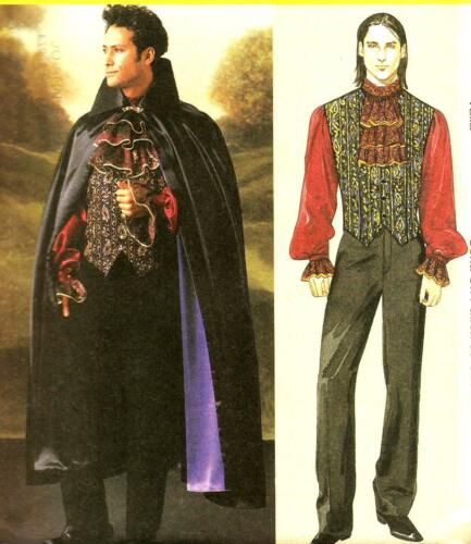 Vampire Gothic Steampunk Cloak Costume Pattern Choice S-XXL McCall/'s 4092 OOP