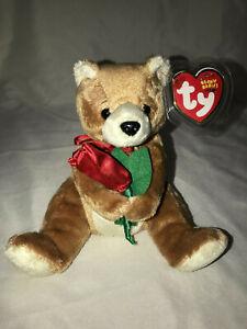 TY ORIGINAL BEANIE BABIES ALWAYS THE LOVE BEAR 2004 RETIRED