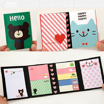 Hot Lovely Animals Sticker Bookmark Marker Memo Flags Sticky  Notes