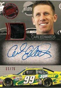 2018 Certified NASCAR Racing #85 Carl Edwards Immortals