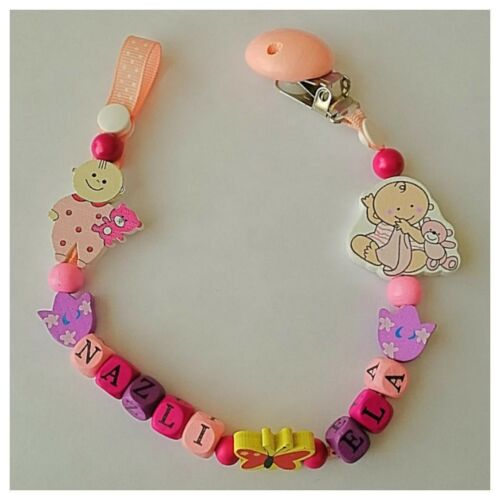 HOLDER PERSONALISED WOODEN DUMMY CLIP CHAIN