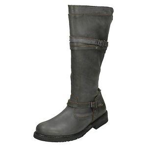 femmes-HARLEY-DAVIDSON-Leather-Motard-Bottes-Cyndie