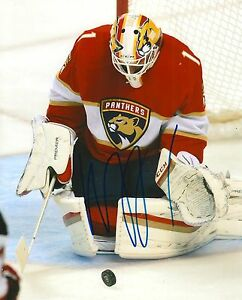 Details About Roberto Luongo Signed Florida Panthers 8x10 Photo Coa C
