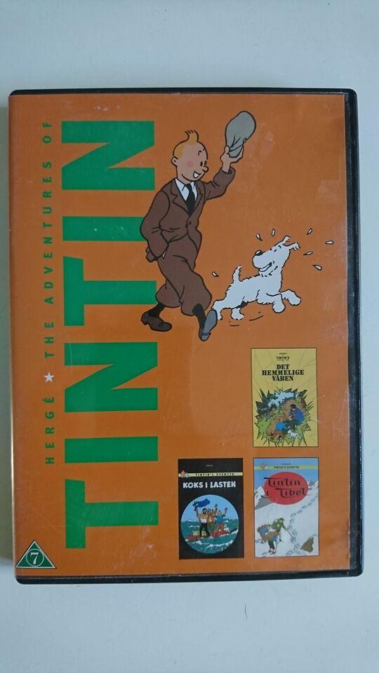 The Adventures Of TINTIN, DVD, tegnefilm