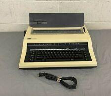 Vintage Nakajima Ae 340 Electric Typewriter Works Needs Ribbon Fast Shipping