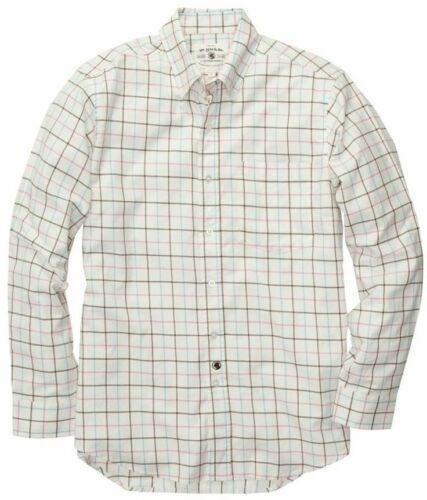 SOUTHERN PROPER Dress Shirt NWT Small Blue//Red//Chocolate Orig.$70