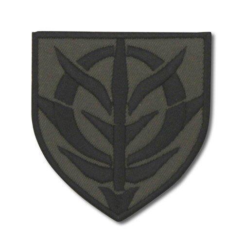 Gundam Principality of Zeon Shield Shape Cospa Character Patch Badge Wappen