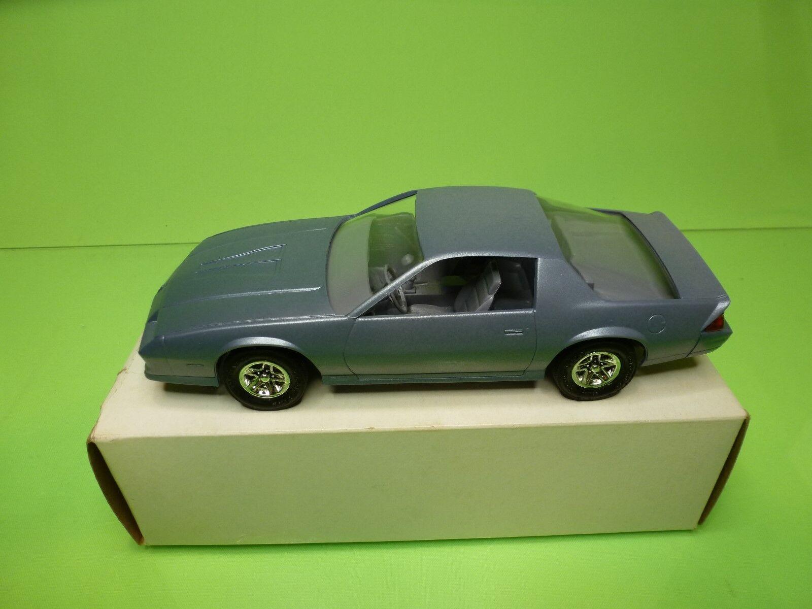 MPC  1 1 1 25  PROMO - CHEVROLET CAMARO 1984  blueE  - GOOD CONDITION IN BOX 6dd6fc