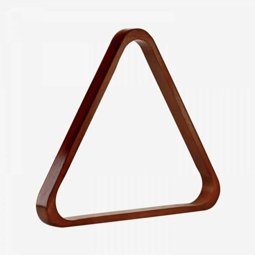 Old World Mahogany New Pro Series Billiard and Pool Wooden 8-Ball Triangle Rack