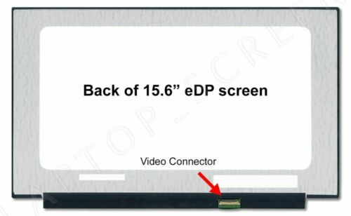 "1920x1080 Matte Display 15.6/"" New LCD Screen for B156HAN02.3 Narrow Bezel FHD"