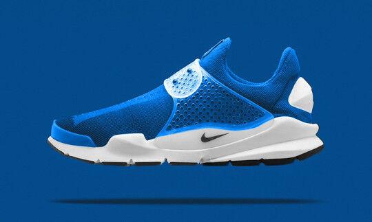 Nike calcetín Dart Sp fragmento Diseño Foto Azul Cumbre blancoo Flyknit 728748-401