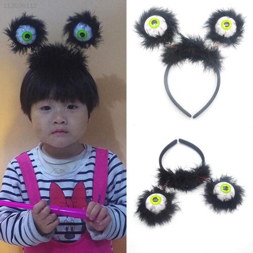 8B65324 Creative Luminous Funny Alien Kids Girl Headdress Headwear Hairs Decor