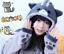 Neko-Atsume-Cat-Backyard-Hoodie-Women-Sweatershirt-With-Ears-Cosplay-Costume-New thumbnail 1
