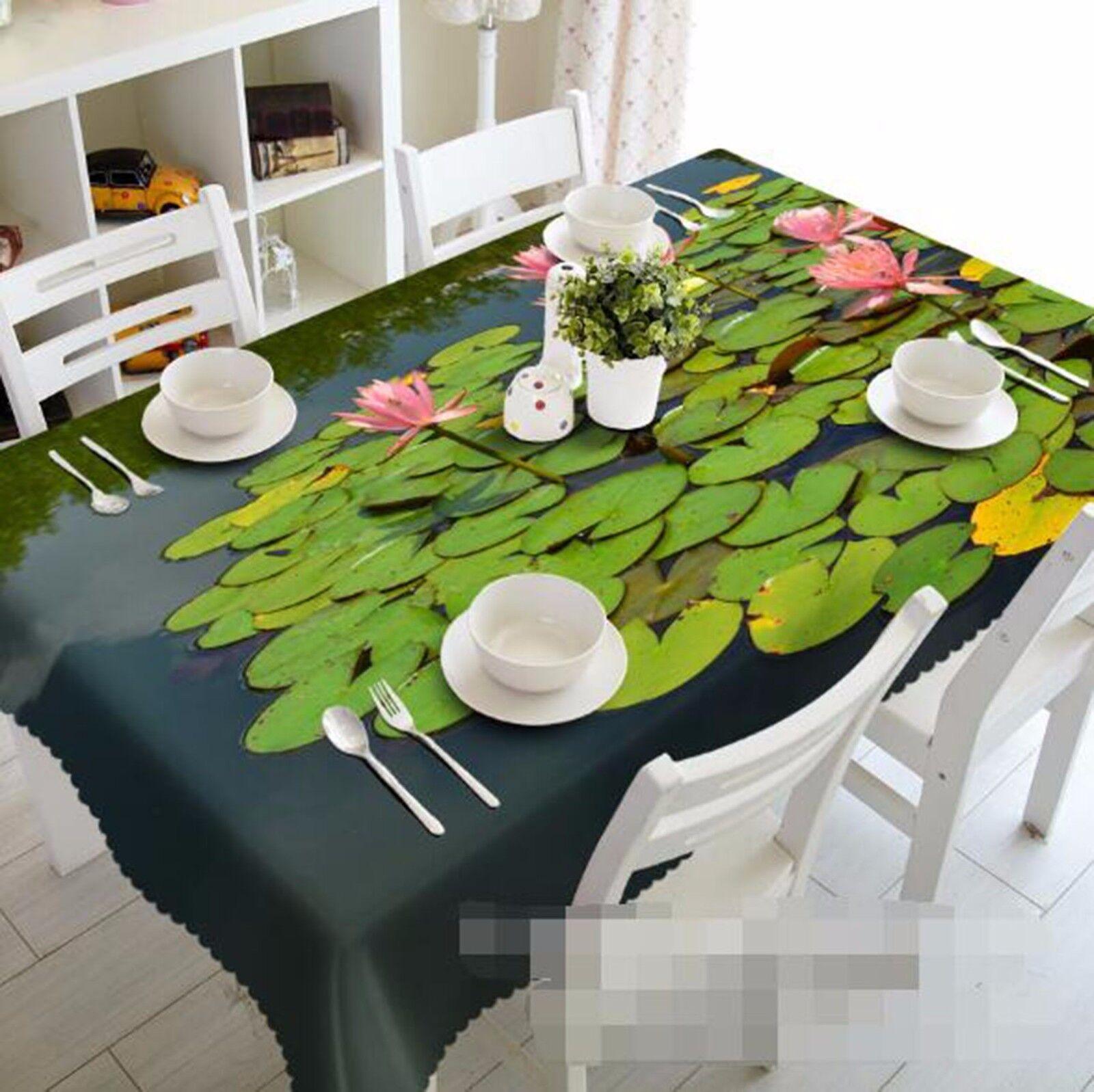 3D Lotu 413 Tablecloth Table Cover Cloth Birthday Party AJ WALLPAPER UK Lemon