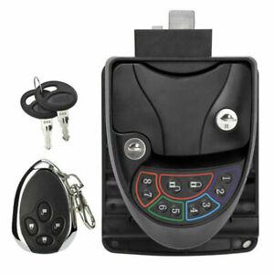 RV-Keyless-Entry-Door-Locks-Latch-Handle-Knob-Deadbolt-Camper-Caravan-Trailer-US