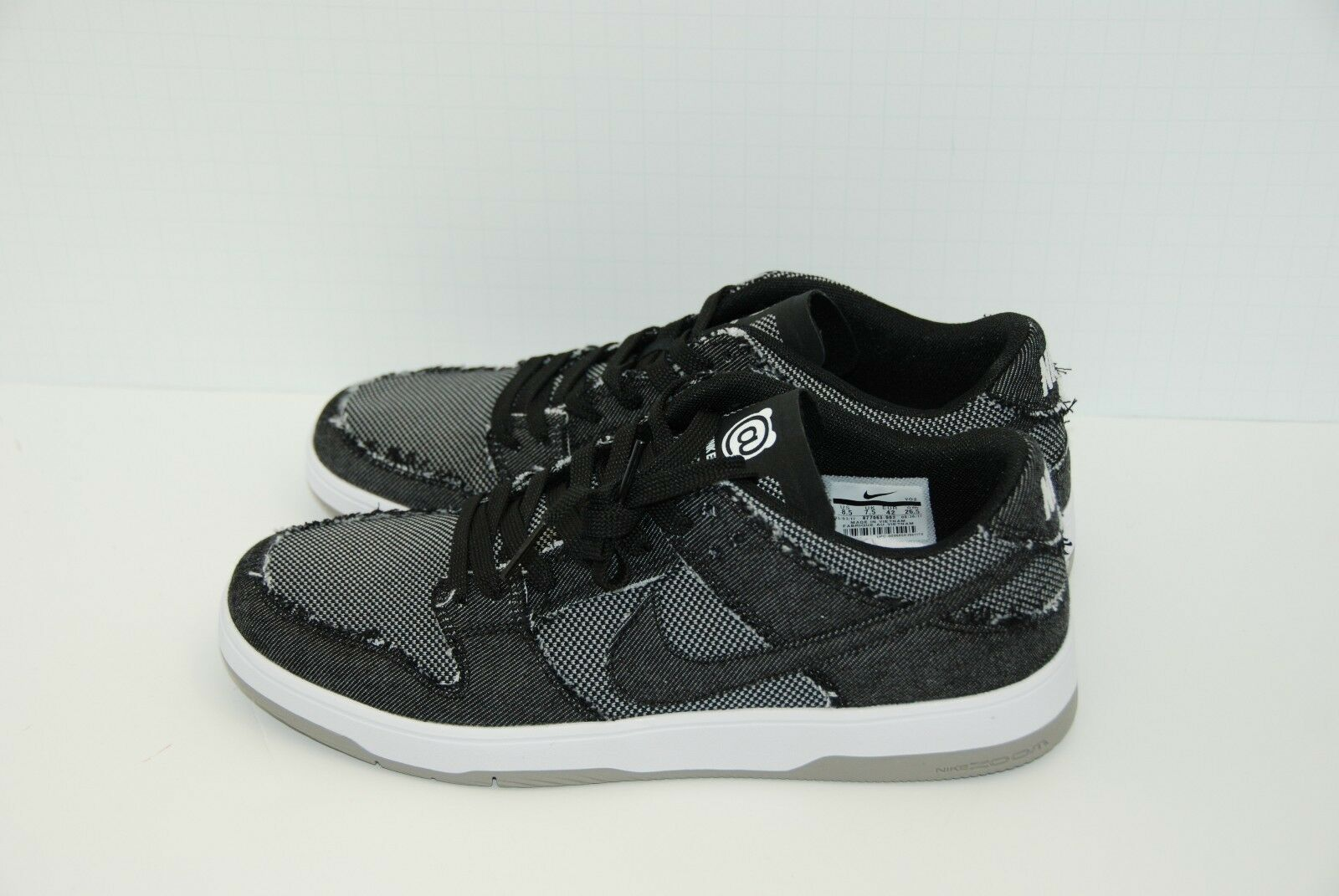 Nike Low SB Dunk Low Nike Elite x Medicom BE@RBRICK Bearbrick 877063-002 Size 8.5 US 44eb5e
