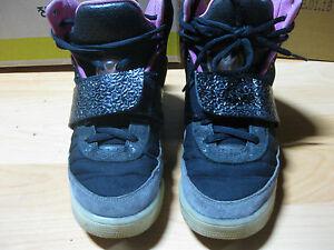 collar grava himno Nacional  Nike Air Yeezy 1 black/pink blinks Sz 8.5 | eBay