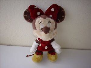 SUPERBE PELUCHE DOUDOU MINNIE MADE WITH LOVE (FAIT AVEC AMOUR) 32 cm DISNEY