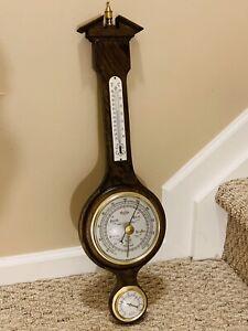 Vintage Antique Whitehall Banjo Style Thermometer, Barometer, Hygrometer- RARE!!