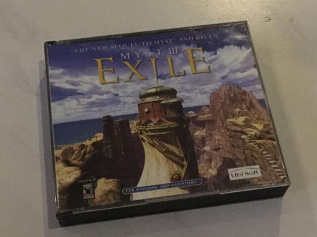 Myst III - Exile PC Mac 2001 Computerspiel Ubi Soft  TOP!