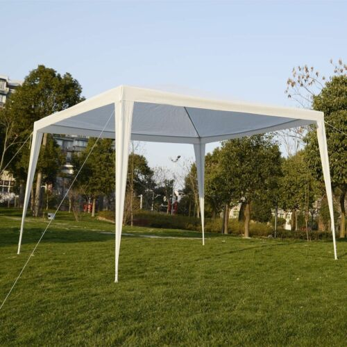 10'x10'Canopy Party Wedding Tent Outdoor Heavy Duty Gazebo Pavilion White New