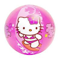 20 Inflatable Beach Ball Toy Sanrio Hello Kitty Surfing Aloha Hawaiian