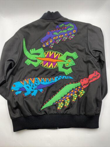 Vintage 80s 90s Silkscapes Pop Art Women's Jacket