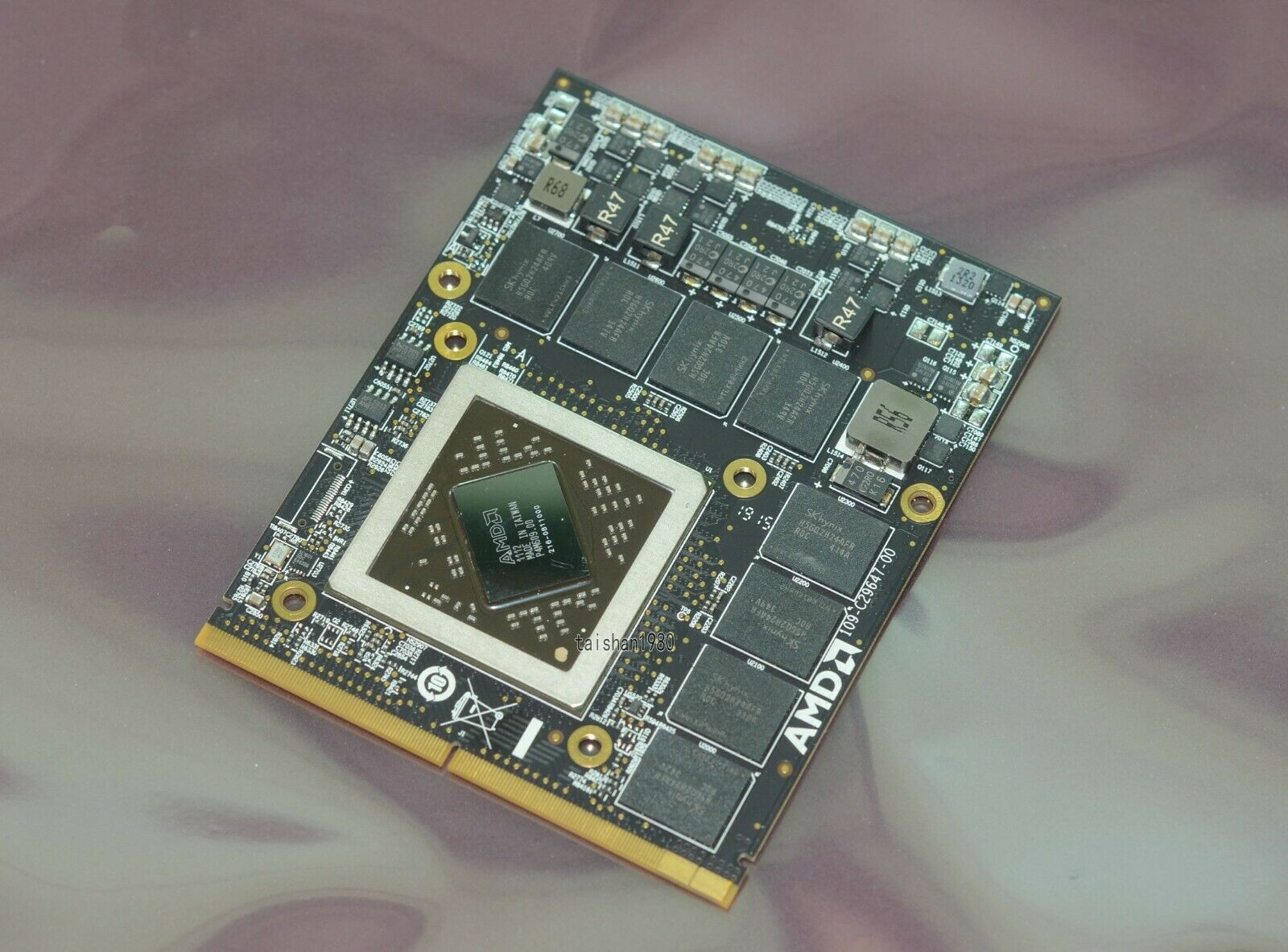 HP 679351-001 AMD Radeon HD 7600A 2GB Mobile Graphics Card