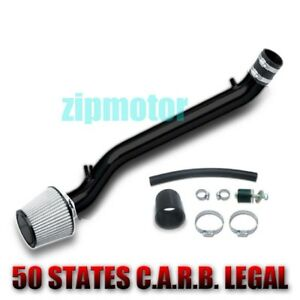 Black Cold Air Intake kit /& Filter For 1992-1995 Honda Civic with 1.5L//1.6L