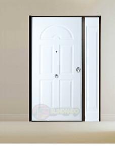 Portoni Blindati Due Ante.Porte Blindate Portoncini Di Sicurezza Stock Per Esterno Porta 2 Ante Iva 22 Ebay