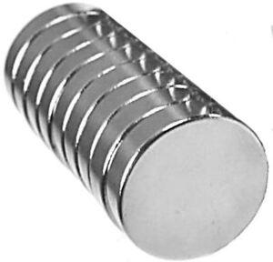Image is loading 10-Neodymium-Magnets-1-2-x-1-8-