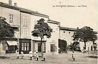 CARTE POSTALE / LE PERREON LA PLACE