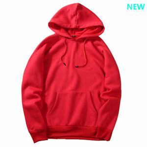 Pullover-Tops-Sweatshirt-Casual-Mens-Hoodie-Coat-Hooded-Workout-Long-Sleeve