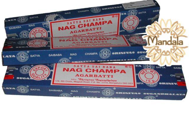 Nag Champa Incense Box 15g per Unit - Satya Sai Baba