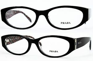 Prada-Fassung-Brille-Glasses-VPR03P-MAS-1O1-Gr-53-Nonvalenz-BF-52-T-40