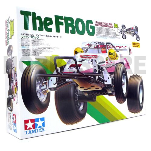 NEW TAMIYA THE FROG 1//10 RC 2WD OFFROAD BUGGY KIT 58354 w TBLE02 ESC BEST OF 80s
